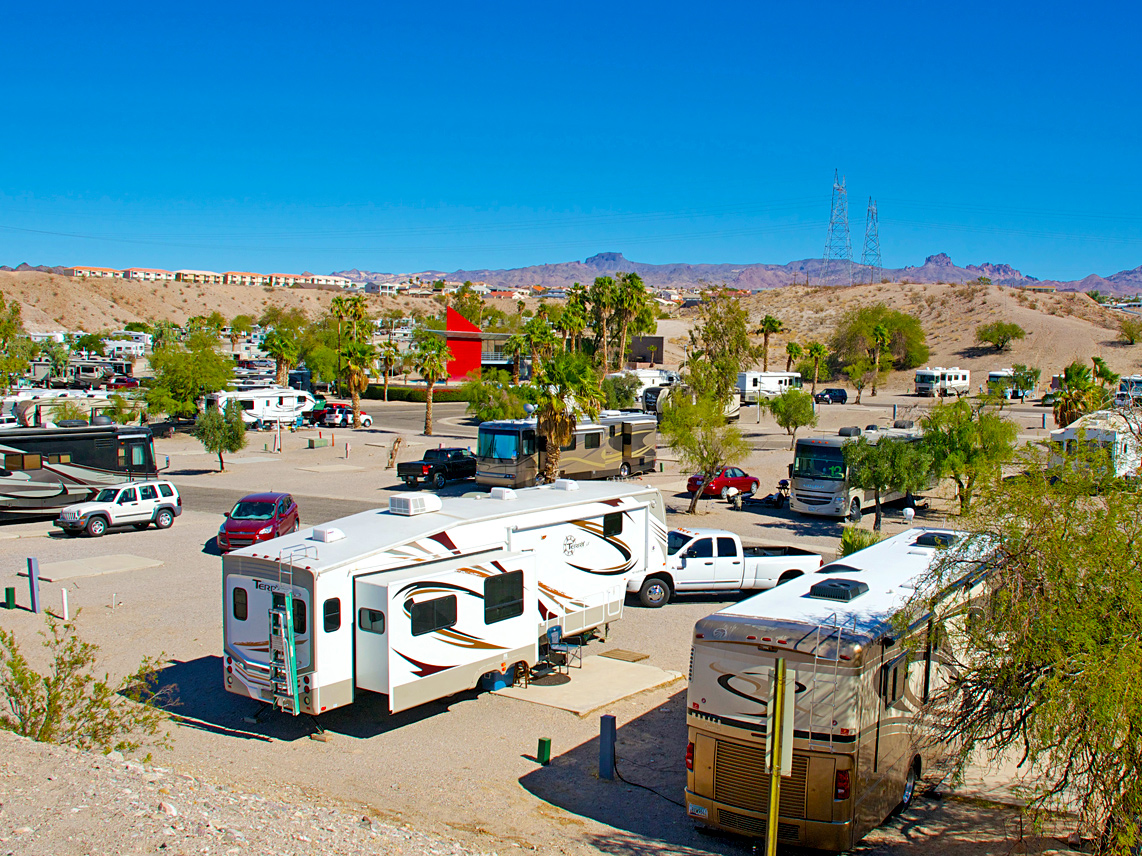 Sunrise adventures ridgeview resort best rv camping in for Laughlin cabins